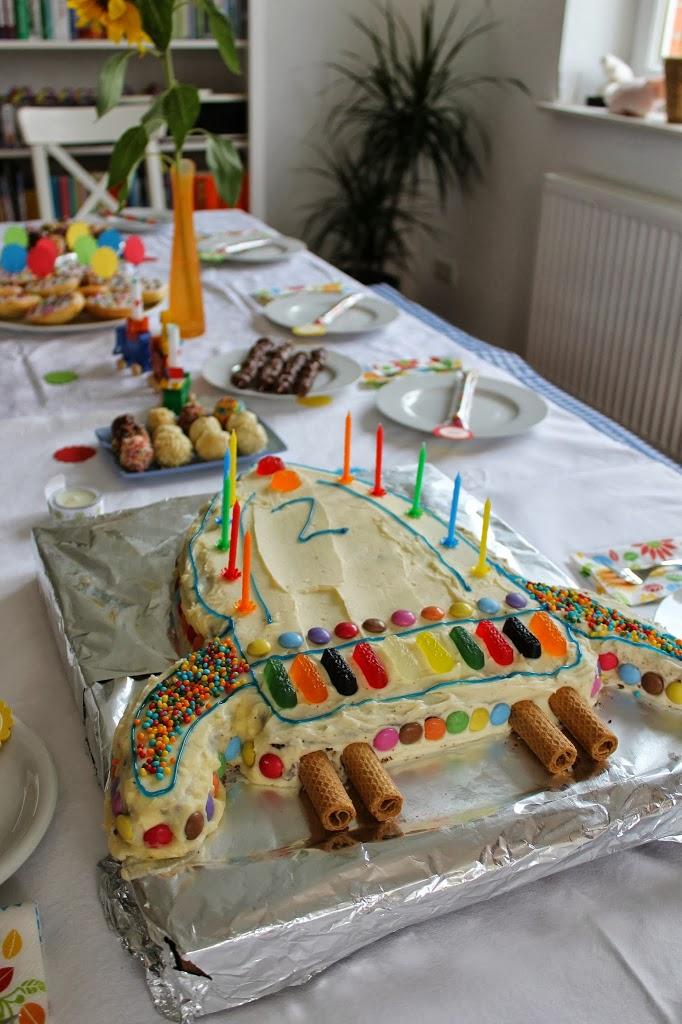 Eine Raketentorte Als Geburtstagskuchen Lavendelblog
