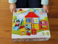 Regenwetter ist Duplo-Wetter: Das Spielhaus von Lego Duplo im Test