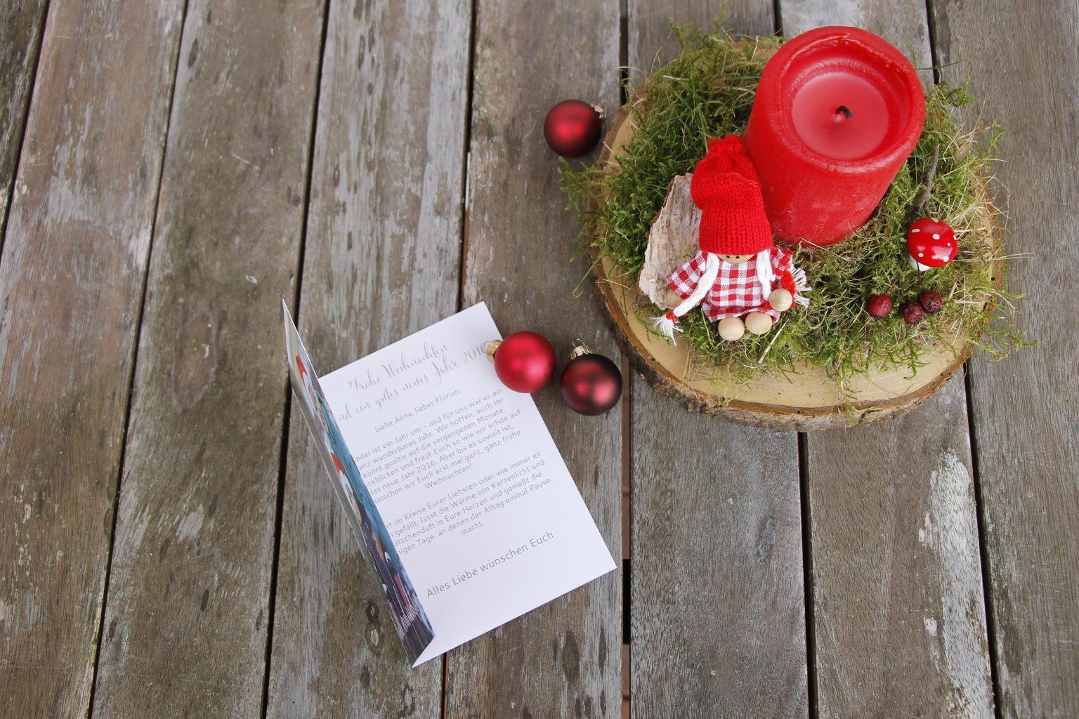 sendmoments Weihnachtskarten