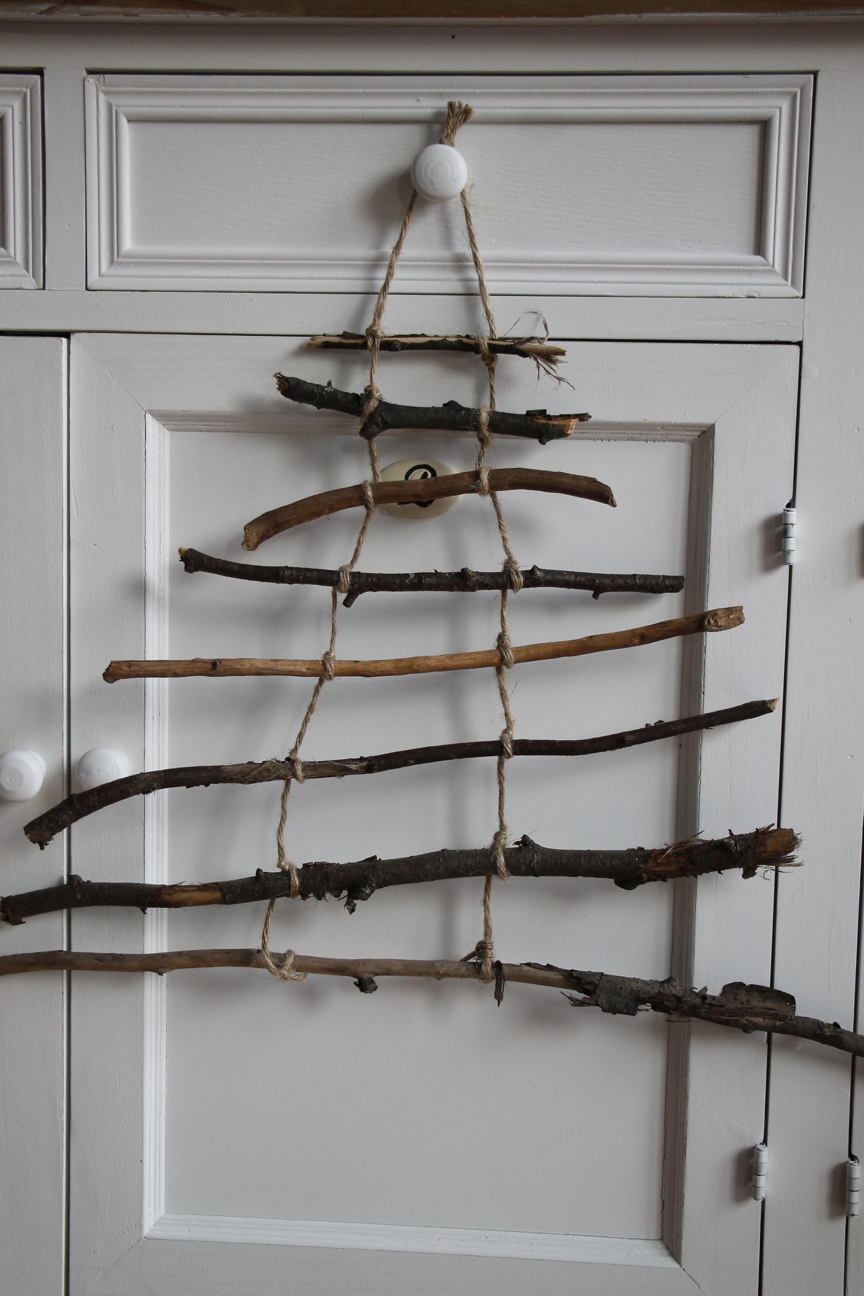 Tannenbaum Aus Zweigen Lavendelblog