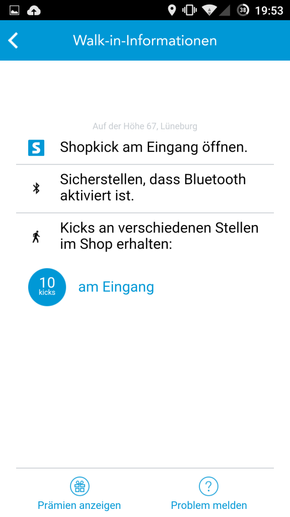 shopkick Walk-In