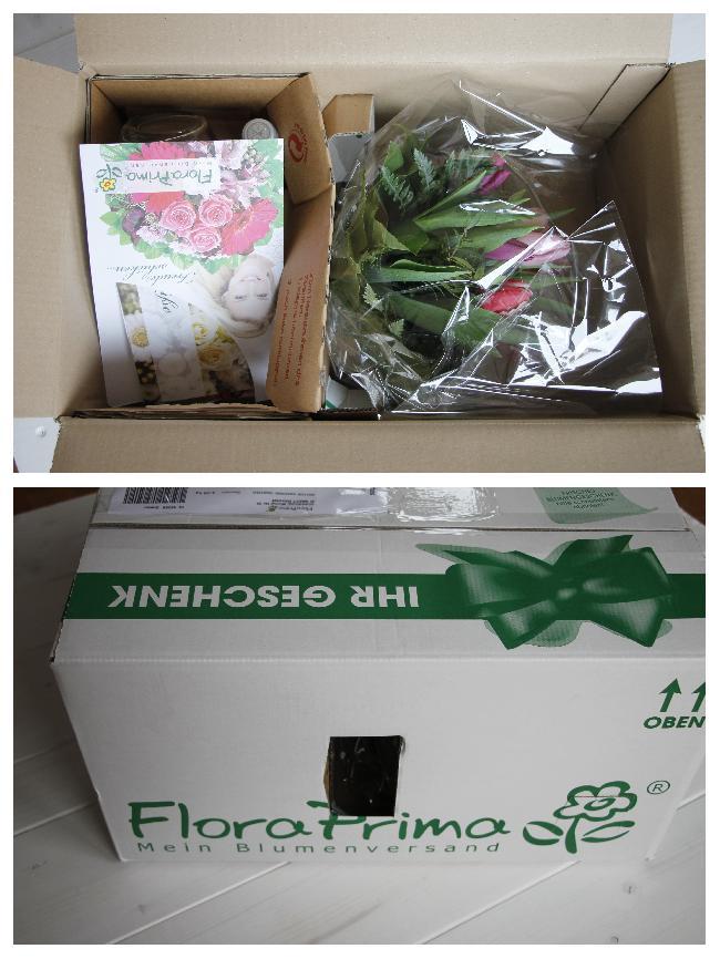 FloraPrima Verpackung