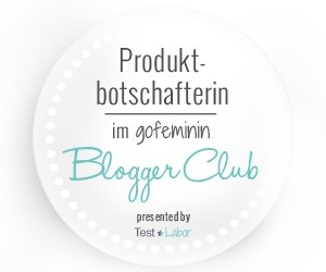 Produktbotschafterin im gofemin BloggerClub