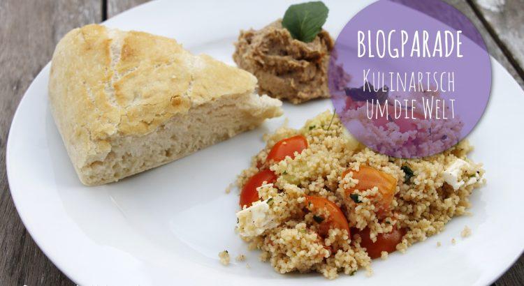 Blogparade Kulinarisch um die Welt