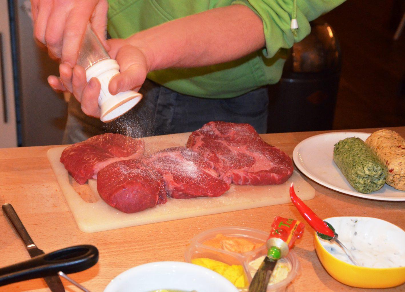 Gourmetfleisch Grillen