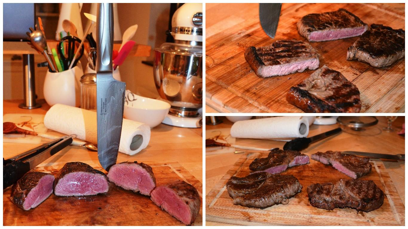 Gourmetfleisch Sous-vide und Grill Collage