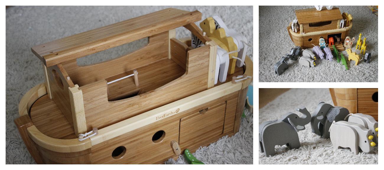 Arche aus Holz