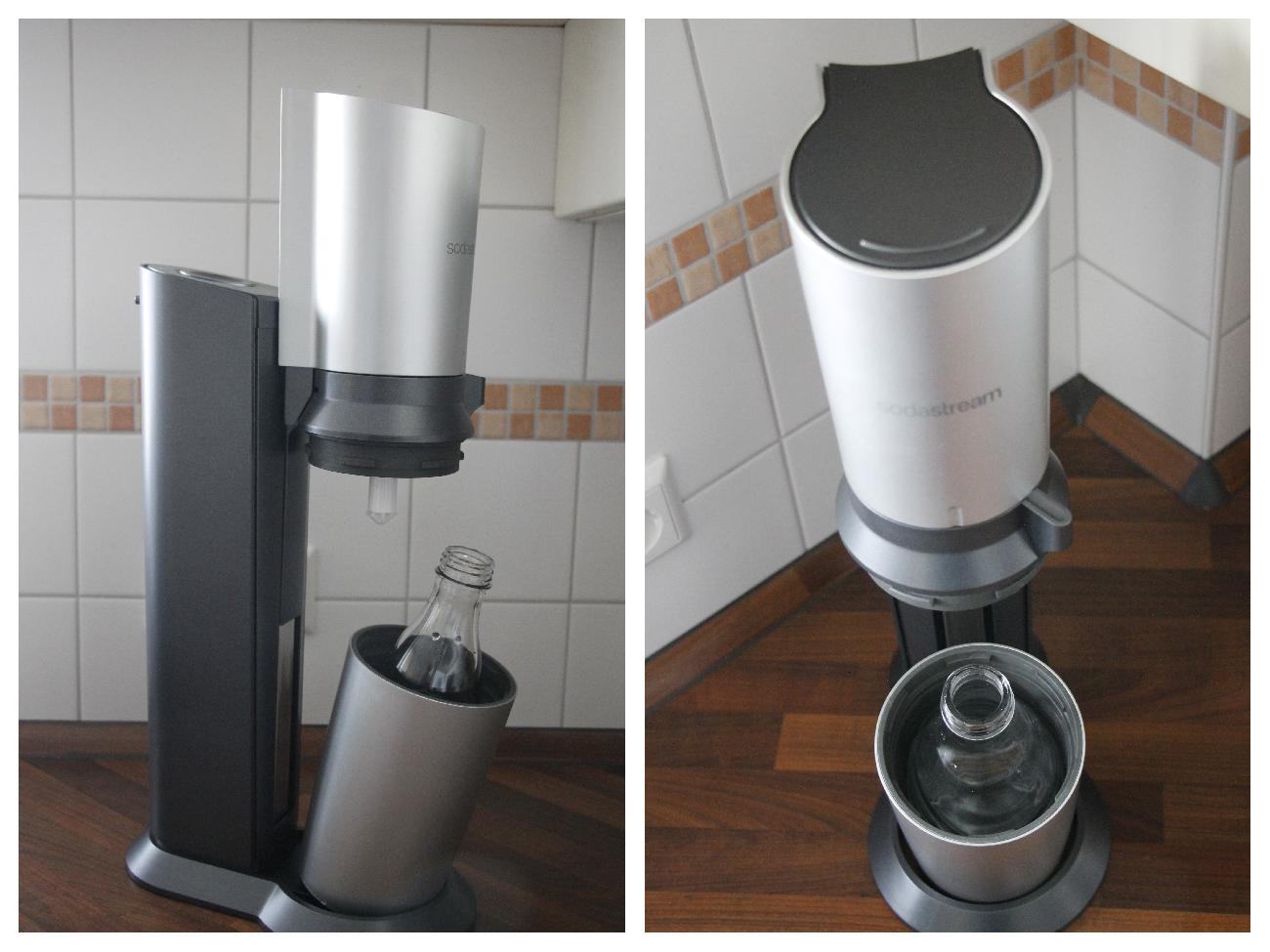 der trinkwassersprudler sodastream crystal im test inkl. Black Bedroom Furniture Sets. Home Design Ideas