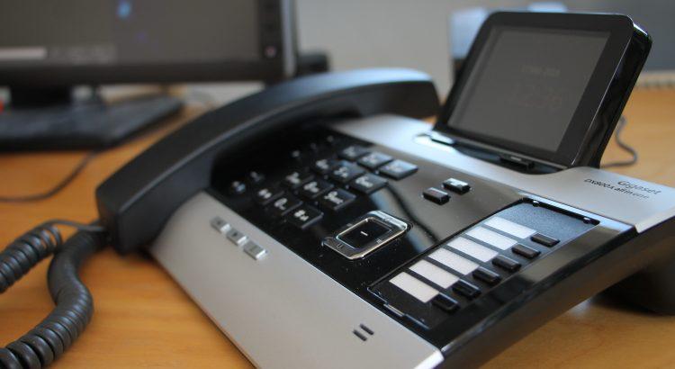 schnurgebundenes Gigaset Bürotelefon