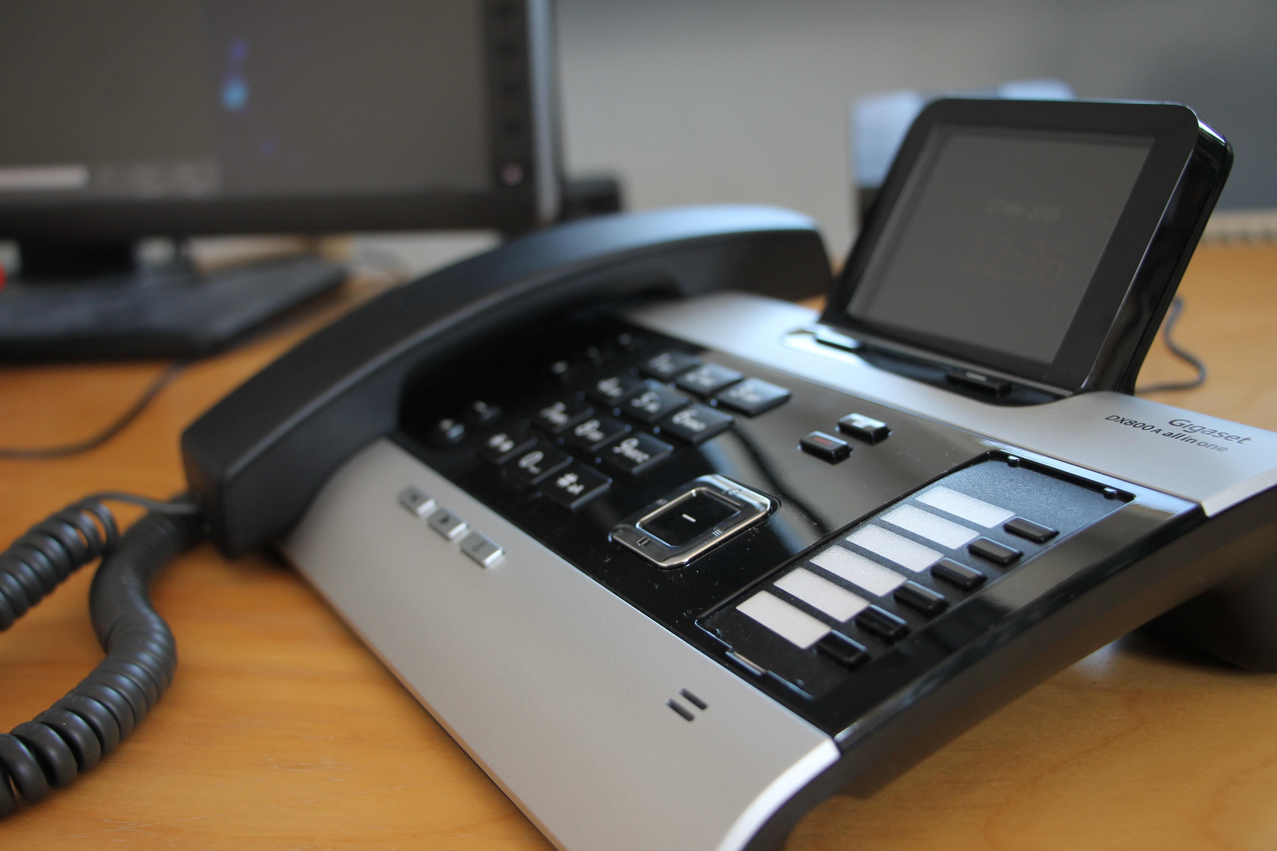Die Telefonzentrale fürs Home-Office: Das Gigaset DX800 A all in one ...