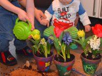 DIY: Blumige Ostergeschenke für Oma und Opa