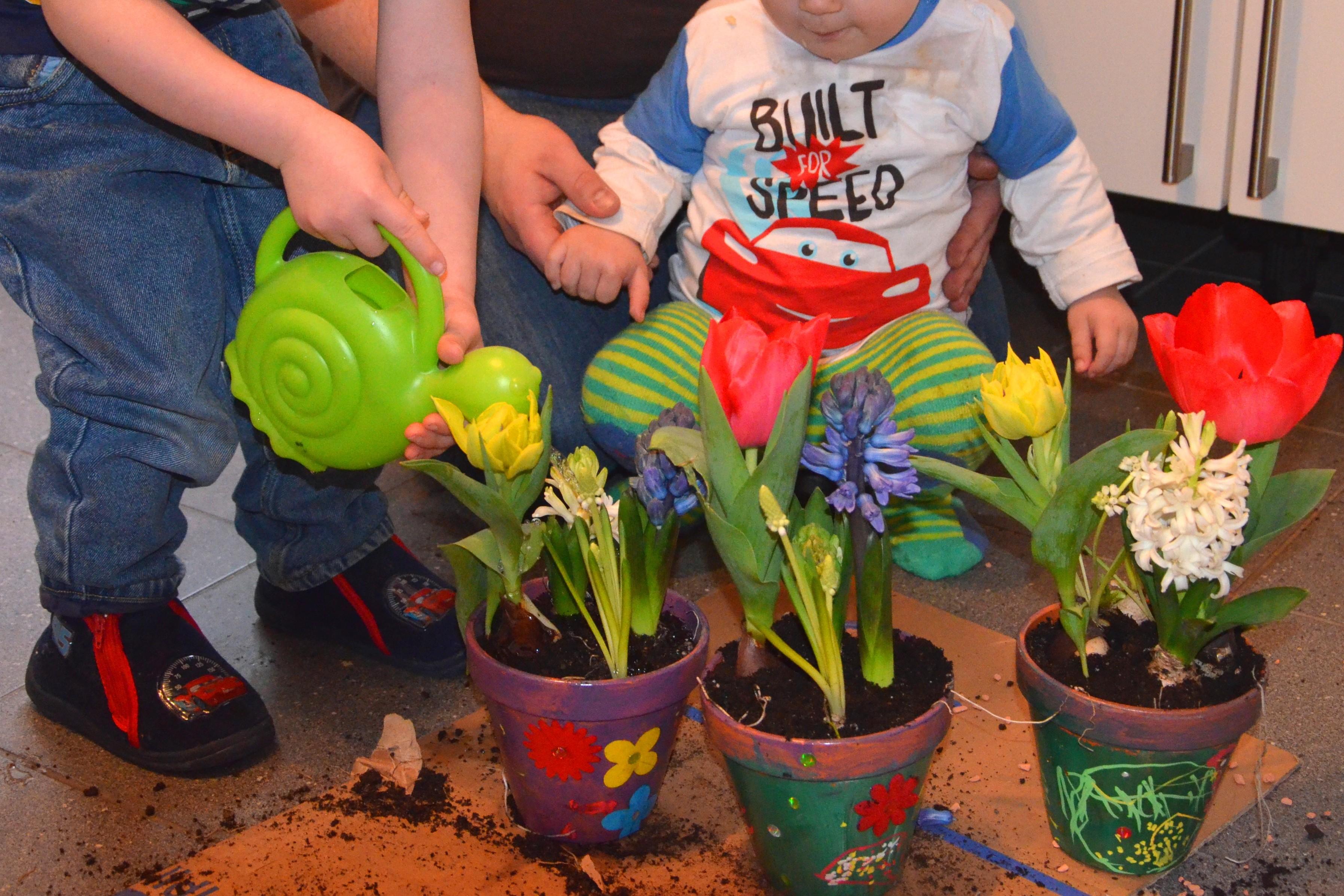 Bevorzugt DIY: Blumige Ostergeschenke für Oma und Opa - Lavendelblog YC81
