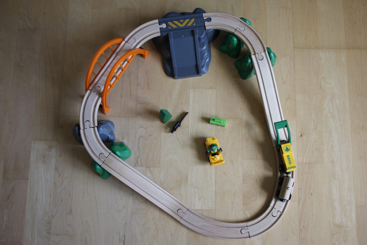 Brio Bahn Waldarbeiterset