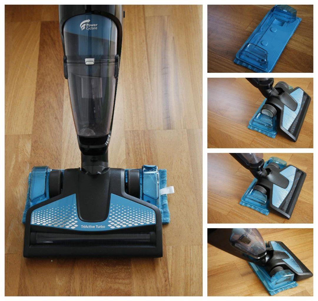 Philips PowerPro Aqua Wischfunktion