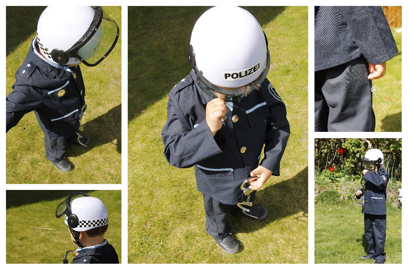 Polizeikostüm Kinder