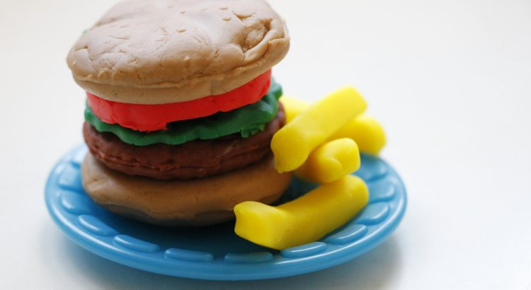 Play-Doh Burger
