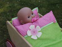 Der Traum von allen Puppenmamas: Der Haba Puppenwagen Kirschblüte