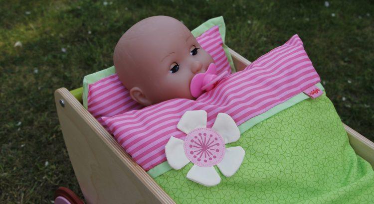 Kirschblüte Puppenwagen Haba