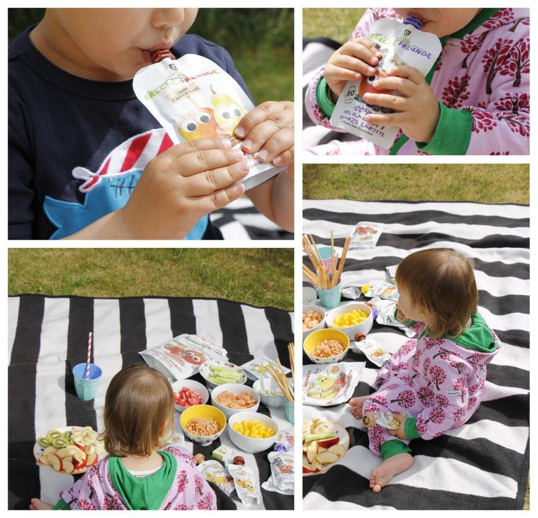 Picknick mit Kindern