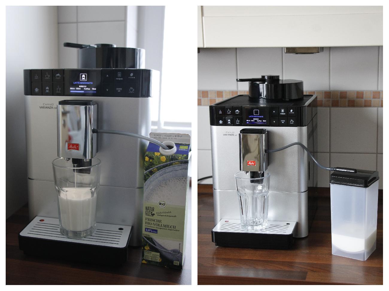 Milchschaumzubereitung Caffeo Varianza CSP