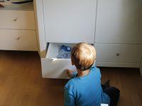 Ein Hoppekids Kleiderschrank im neuen Kinderzimmer