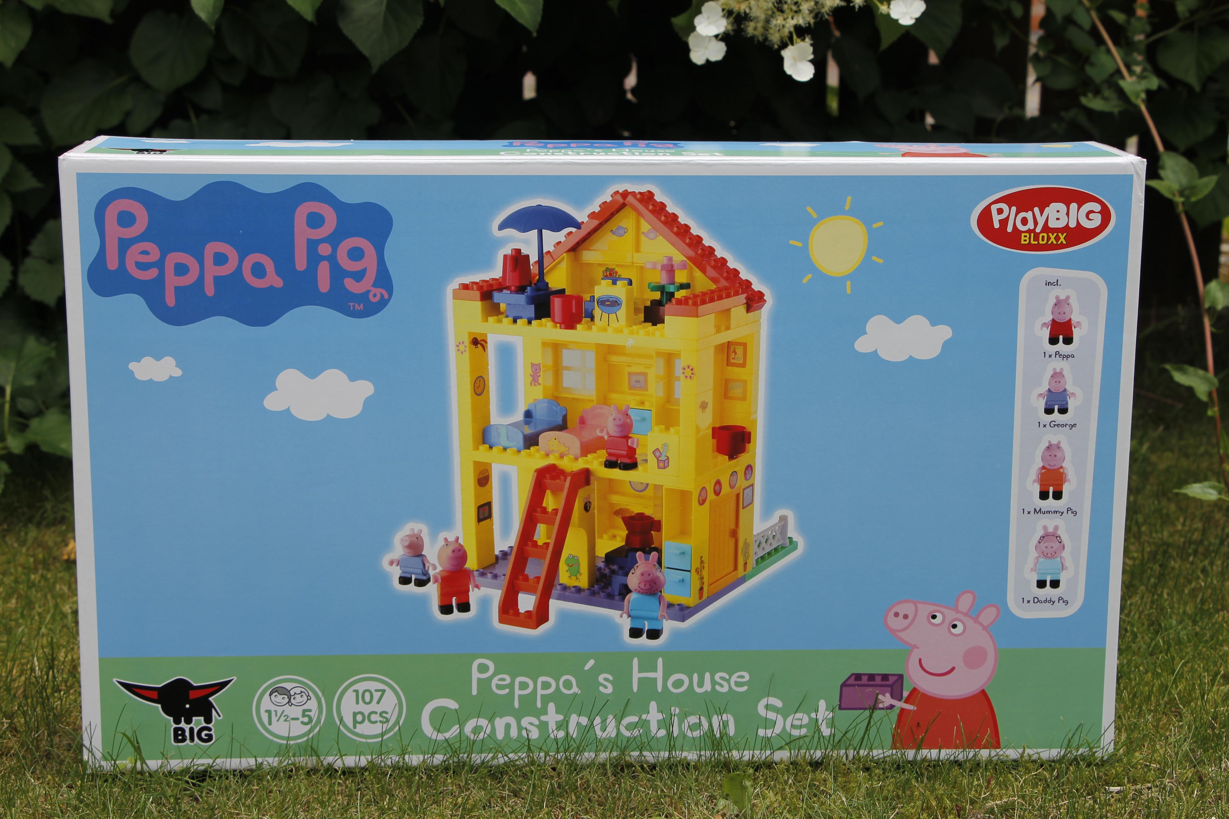 PlayBIG Bloxx Peppa Wutz Wohnhaus