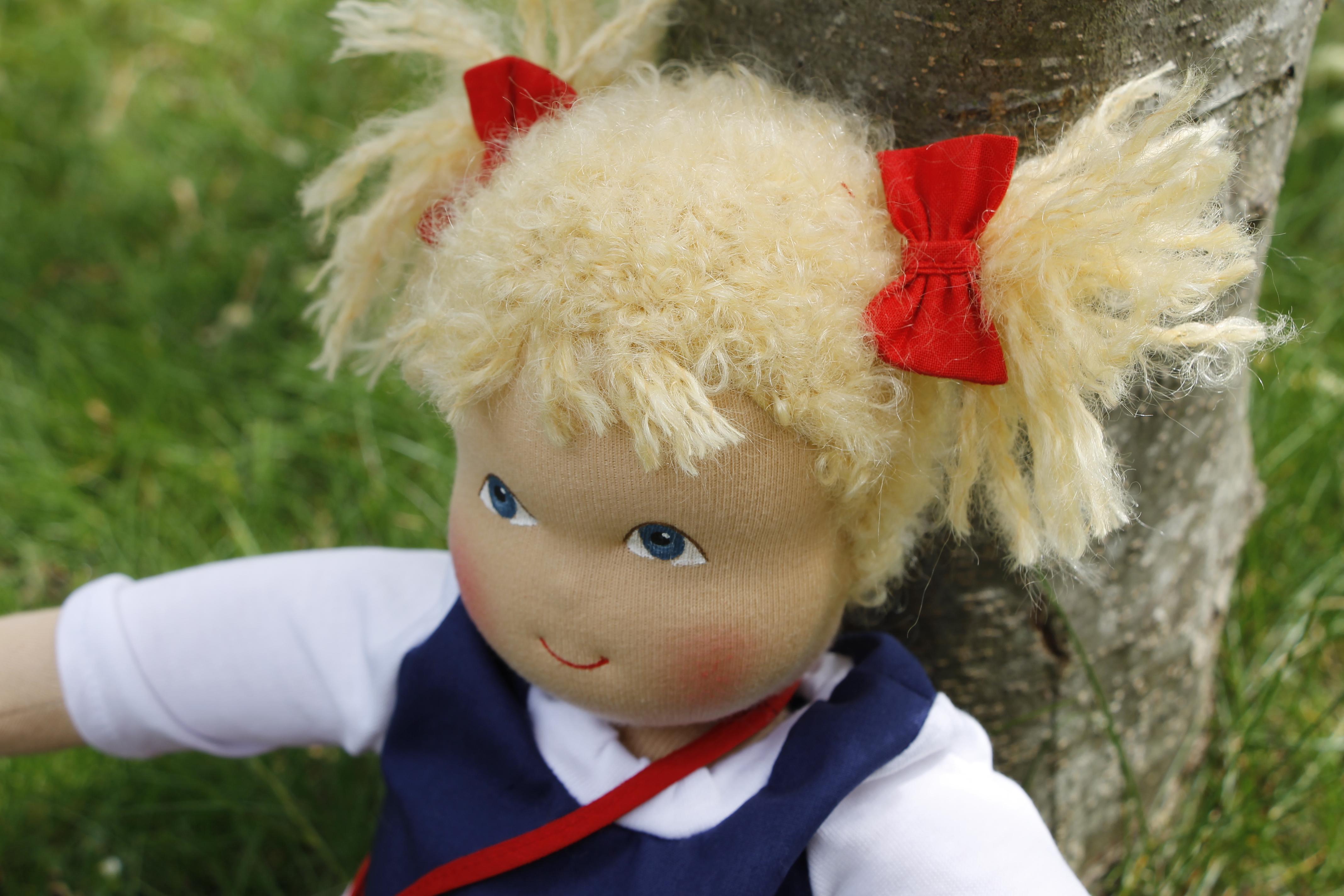 Heidi Hilscher Puppe Judith
