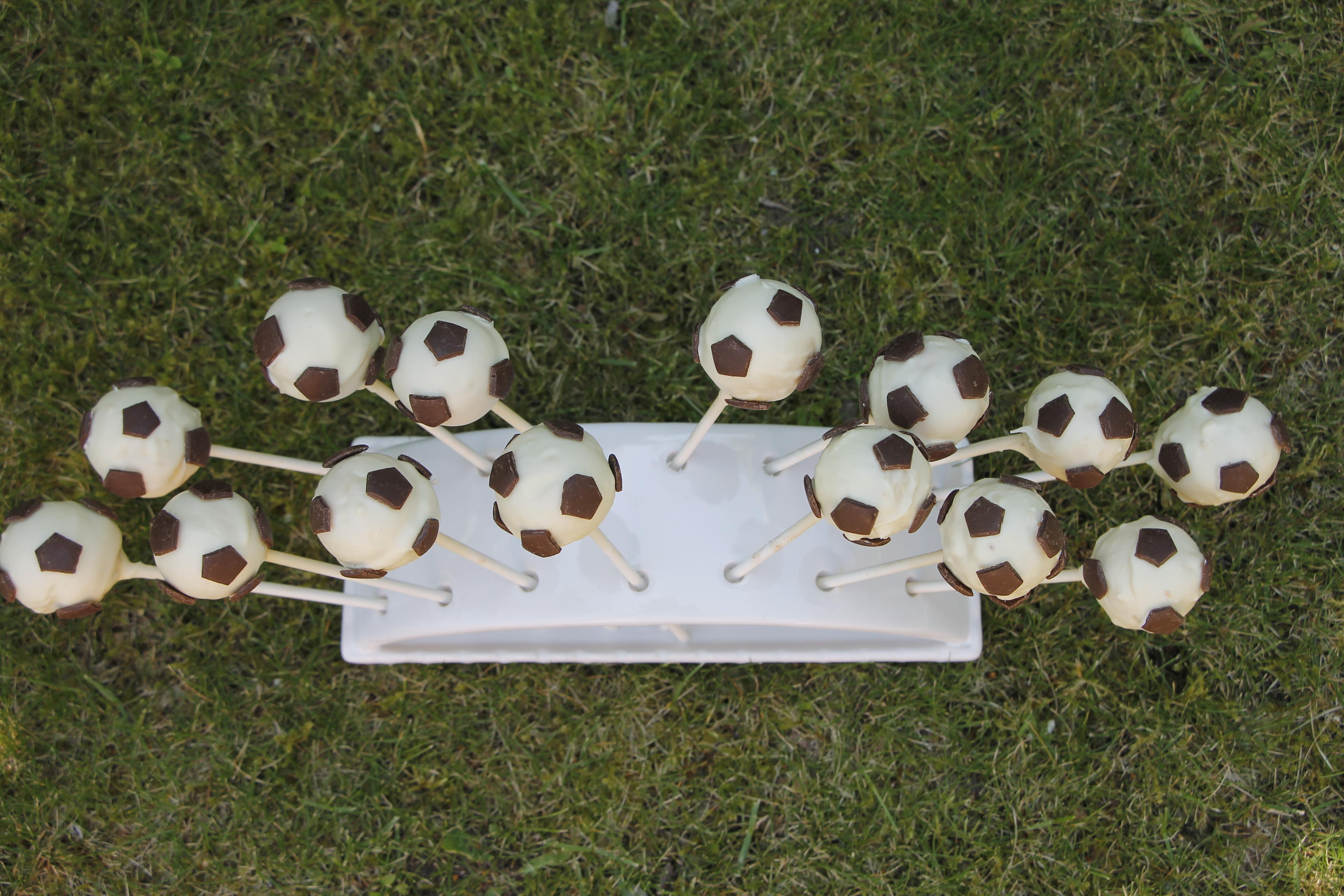 Fußball Cakepops