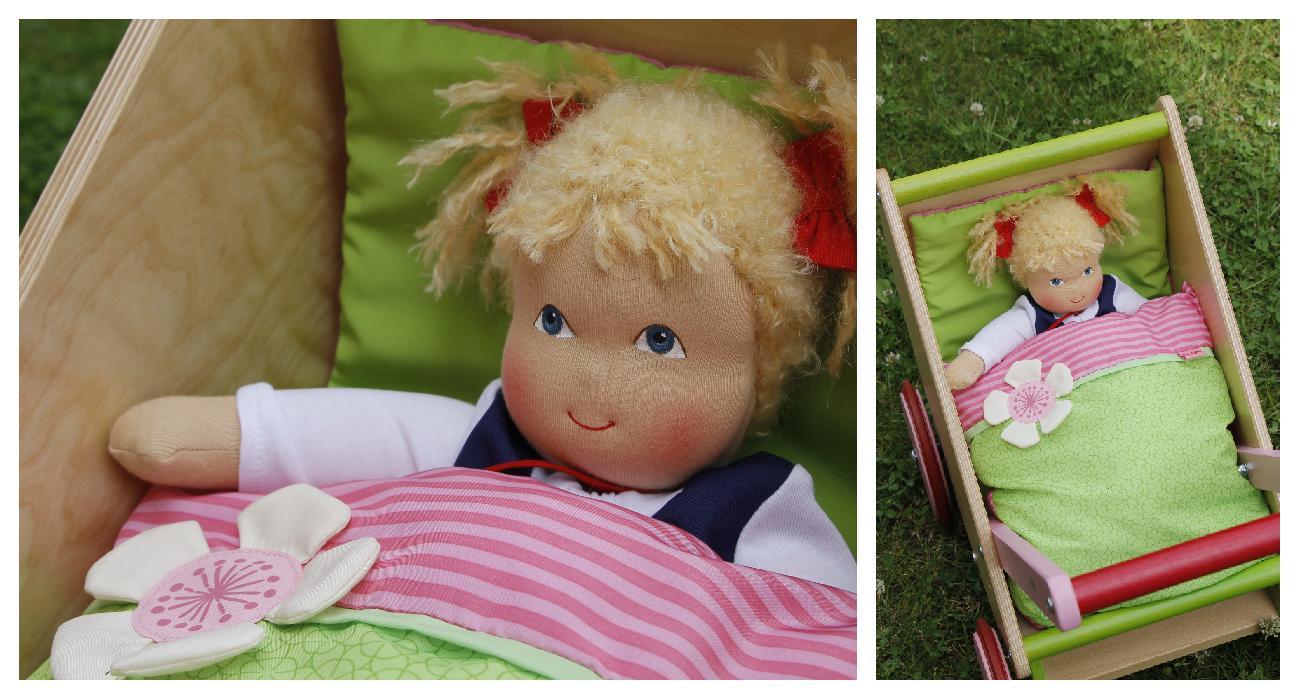 Heidi Hilscher Puppe