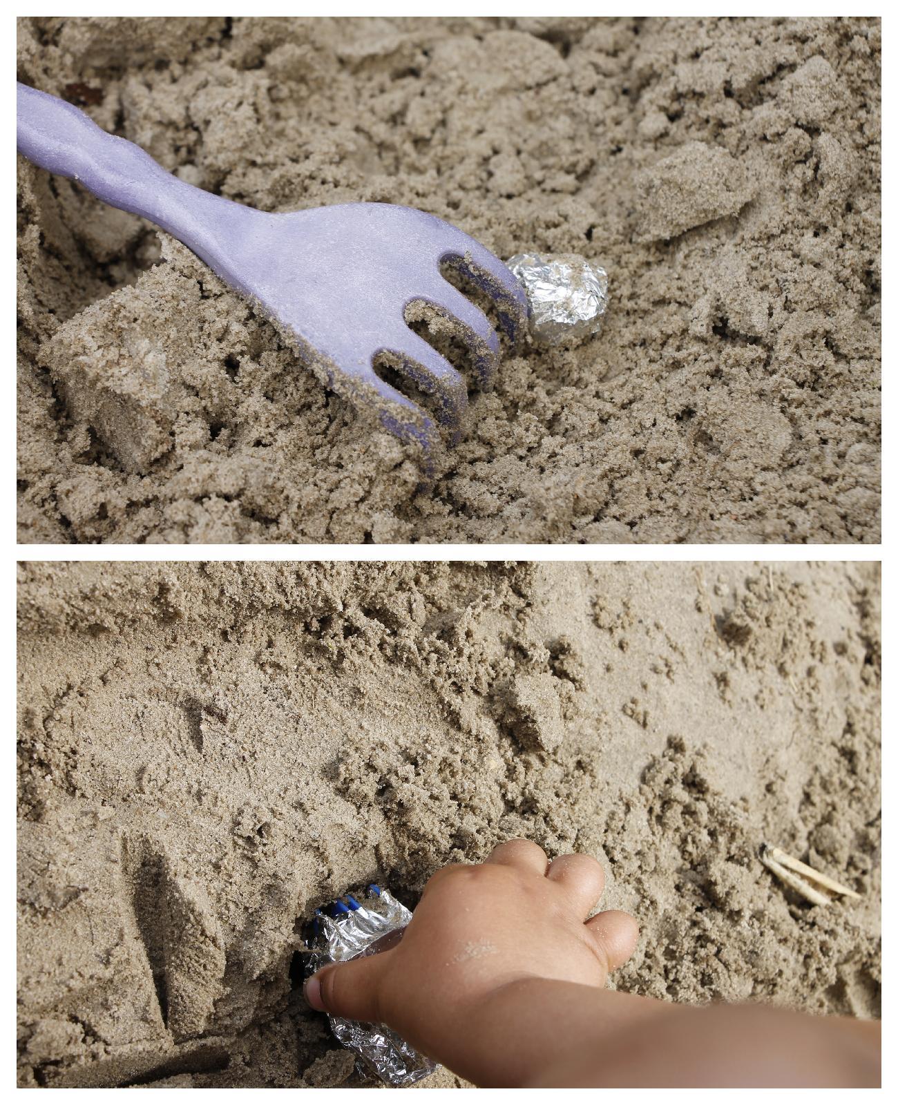 Schatzsuche im Sand