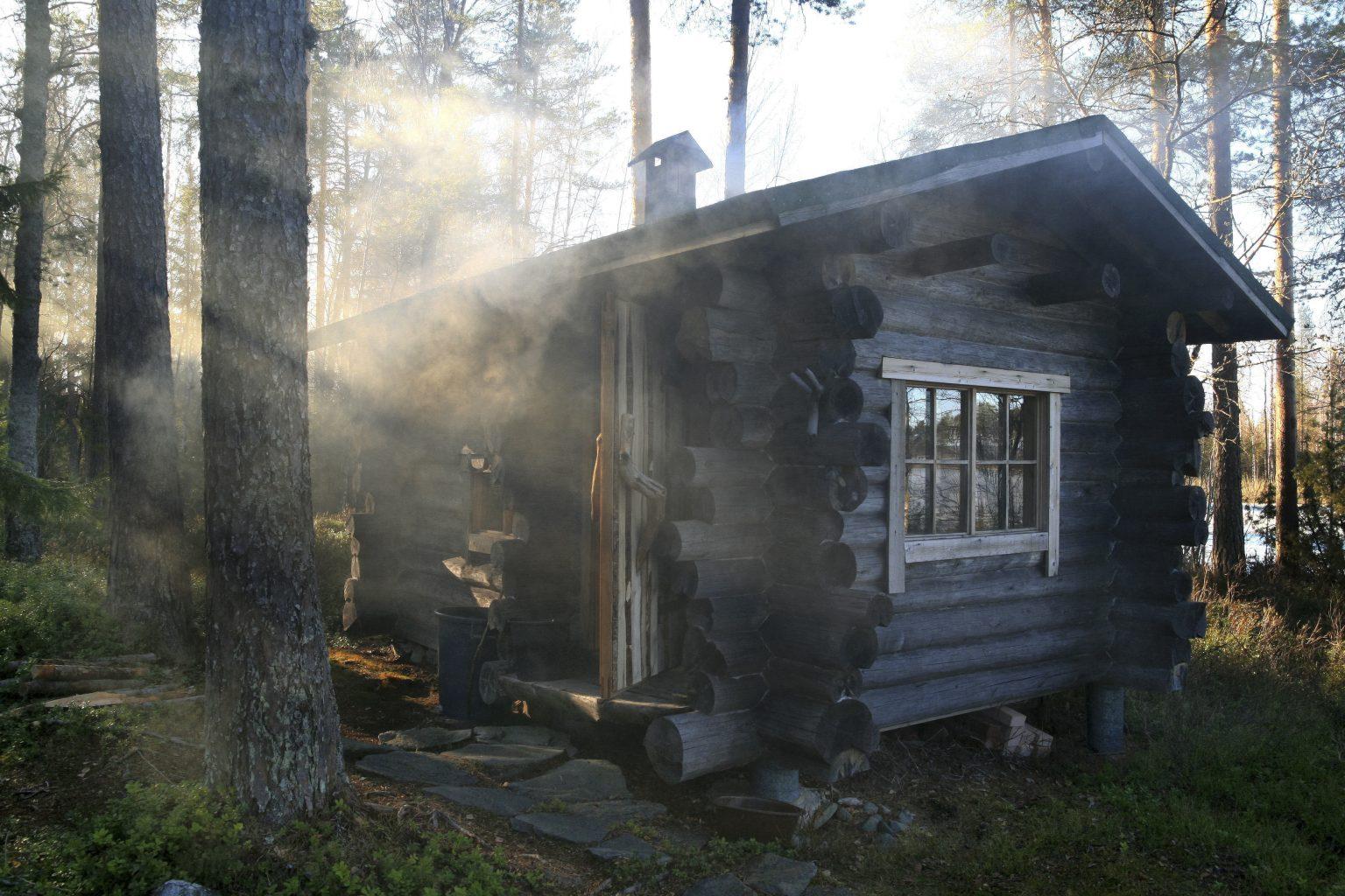 finnische Sauna-Kultur