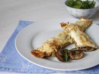 Rezeptidee: Überbackene Champignon-Crêpes