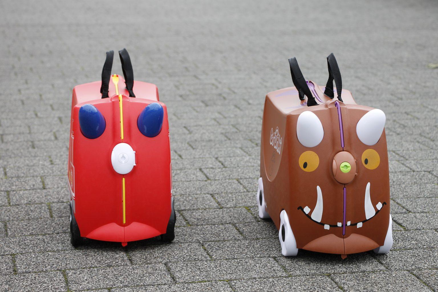 Kinderkoffer zum Ziehen
