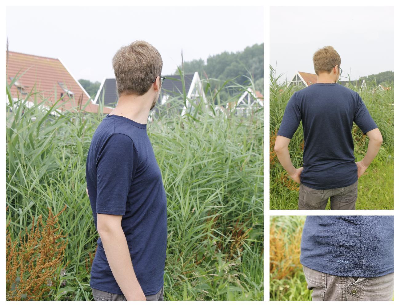 T-Shirt aus Merino