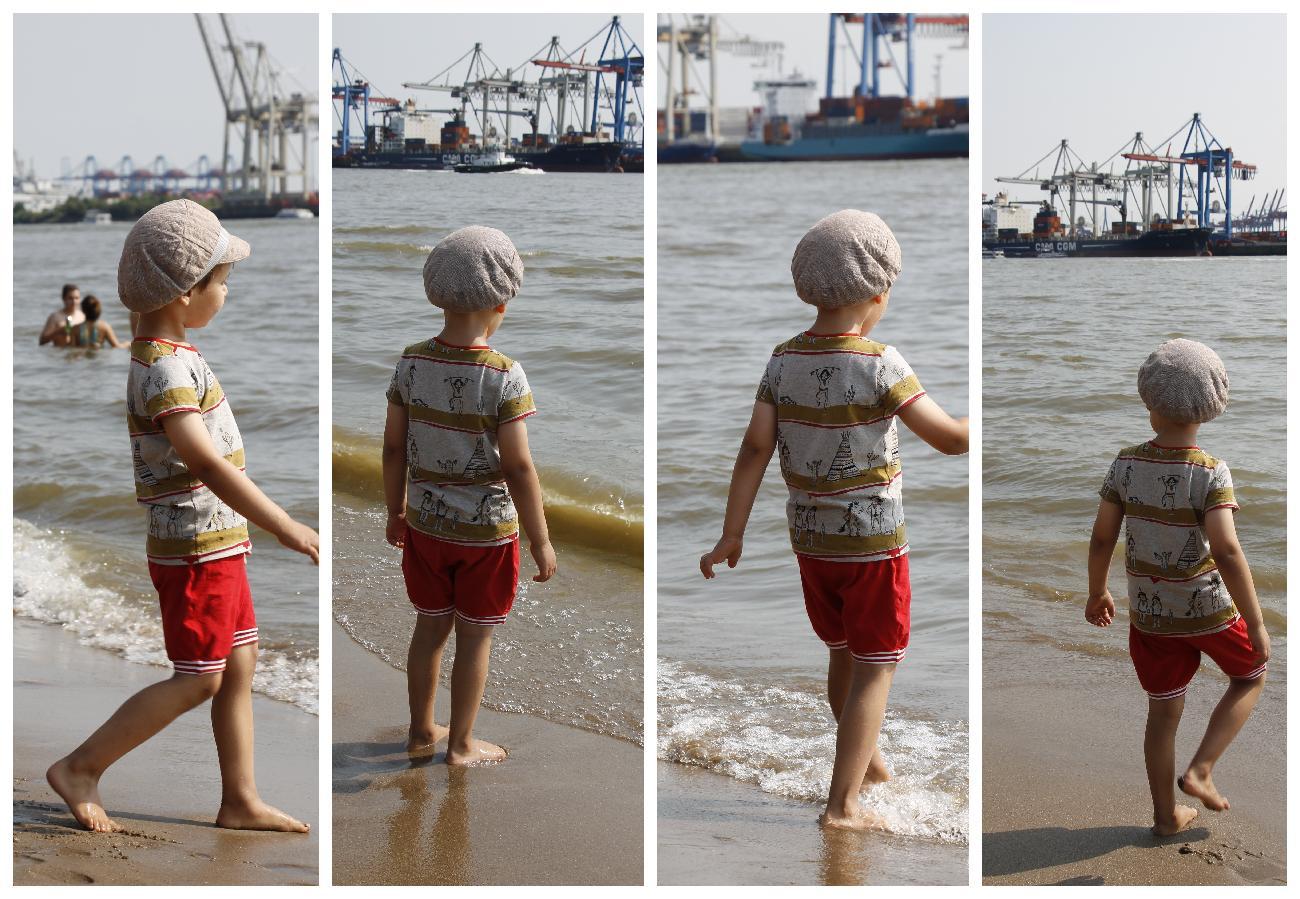 selbstgenähte Kinderkleidung