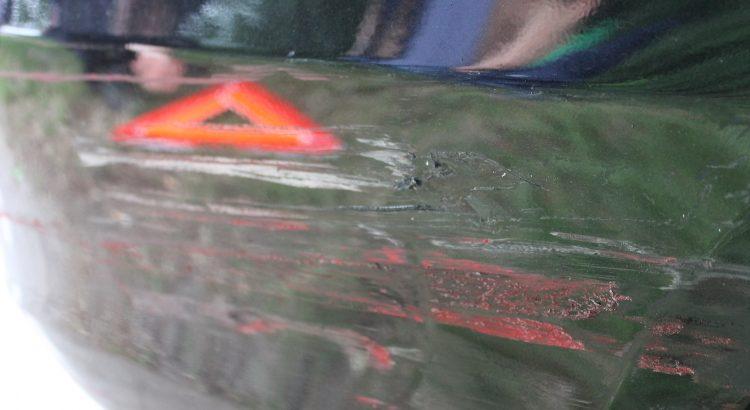 Autounfall Foto