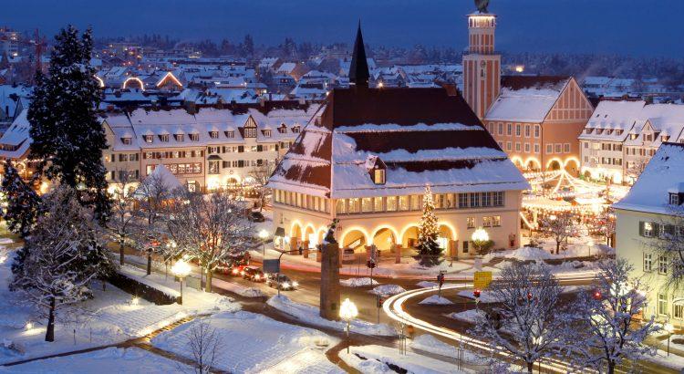Schwarzwald Weihnachtsmarkt Freundenstadt