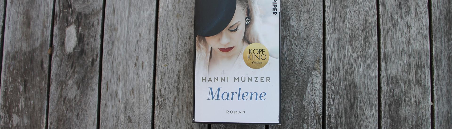 Roman Marlene von Hanni Münzer im Lavendelblog gewinnen