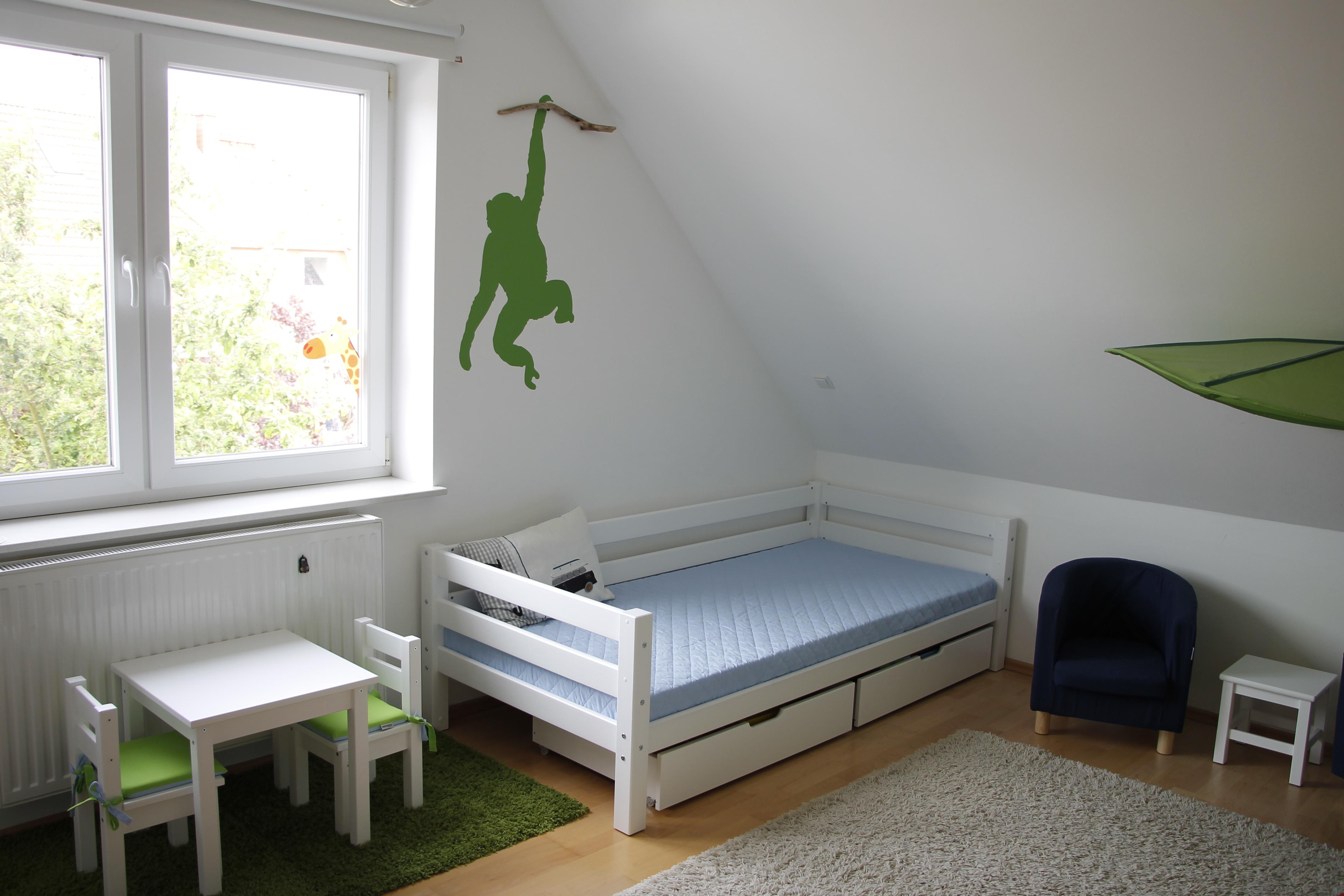 Sofabett kinderzimmer  Ab in den Dschungel: Eine Kinderzimmer-Roomtour - Lavendelblog