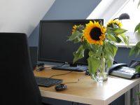 Ein Arbeitszimmer neu einrichten