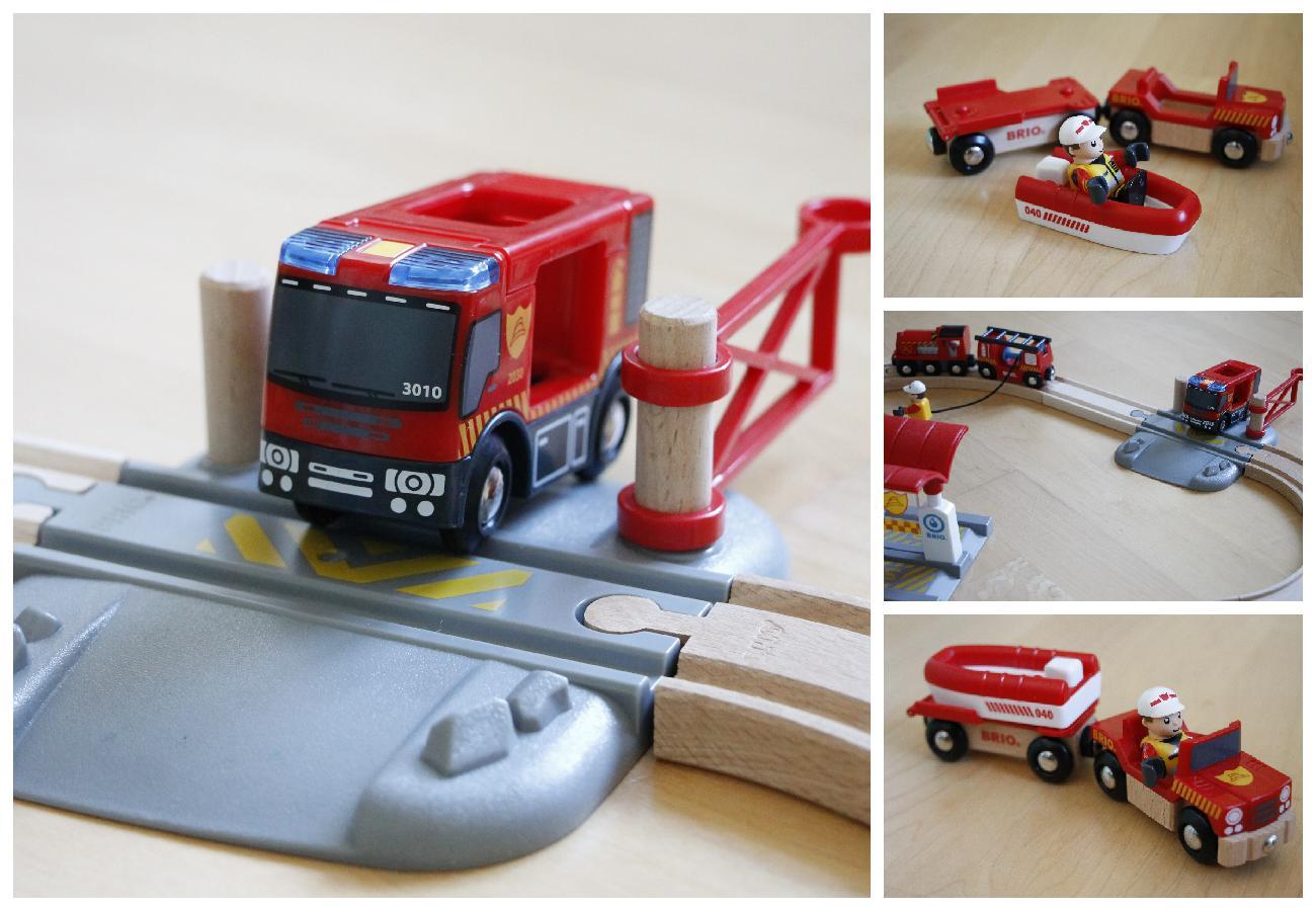Brio Feuerwehrboot