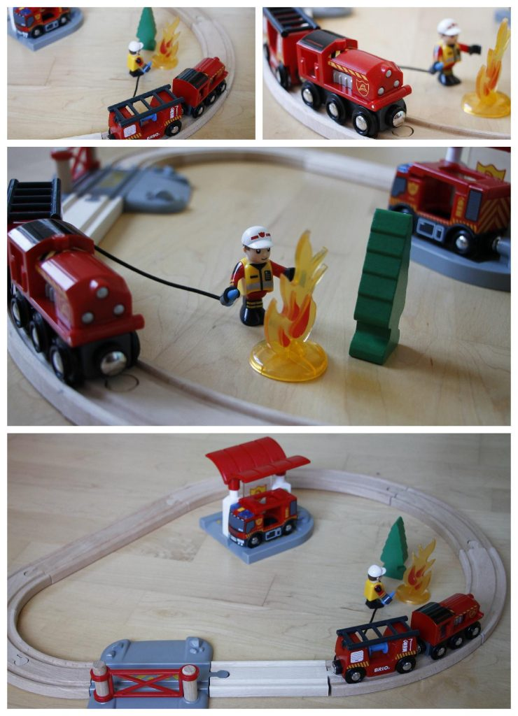 Brio Feuerwehrset