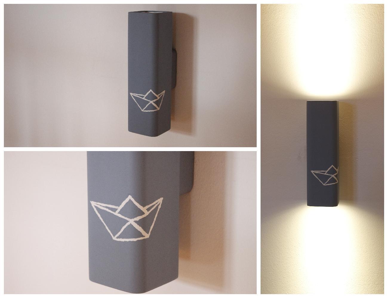 diy mit famlights leuchten zu mehr individualit t an der wand lavendelblog. Black Bedroom Furniture Sets. Home Design Ideas