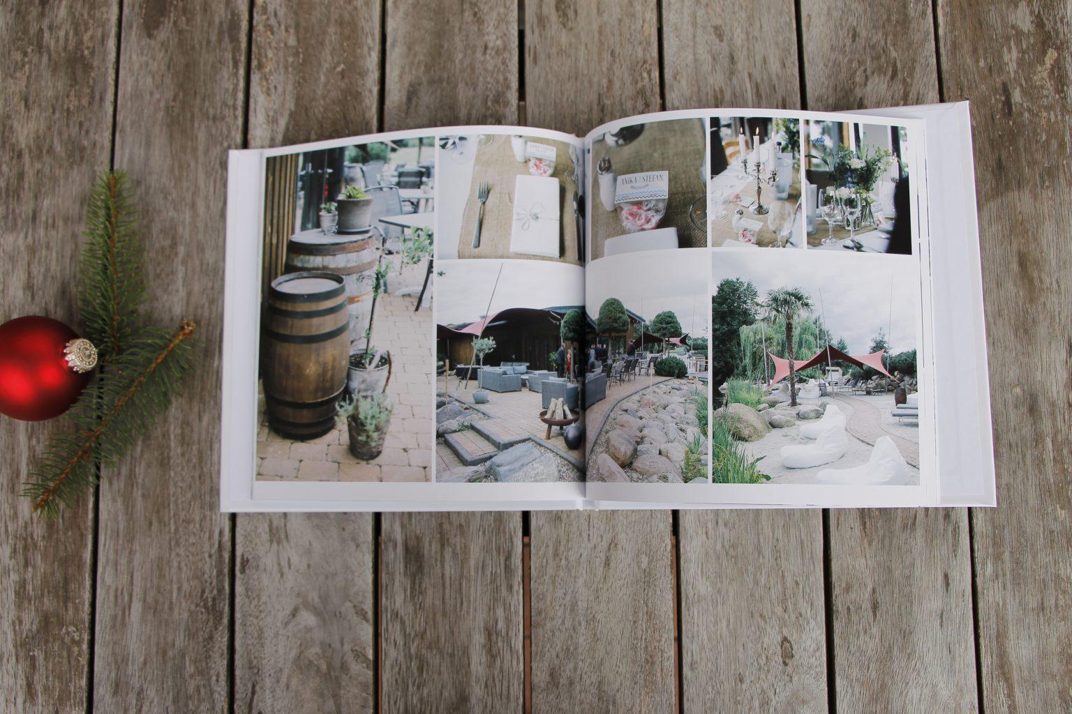 Hochzeitsfotobuch sendmoments
