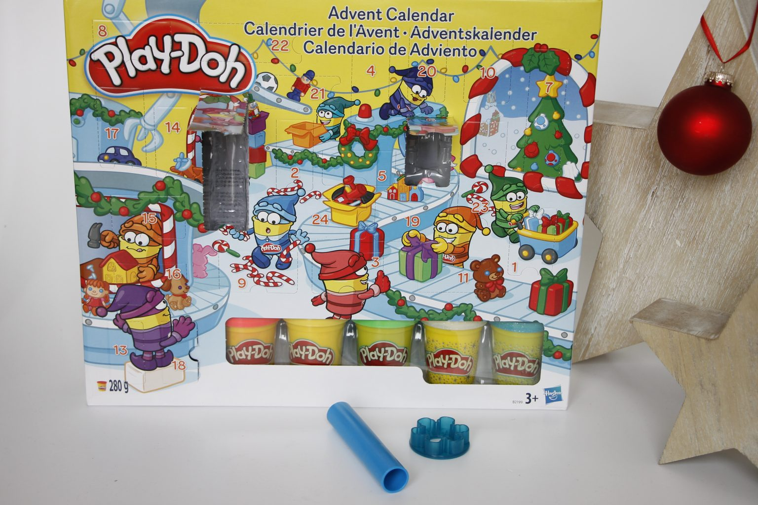 Play-Doh Adventskalender Inhalt