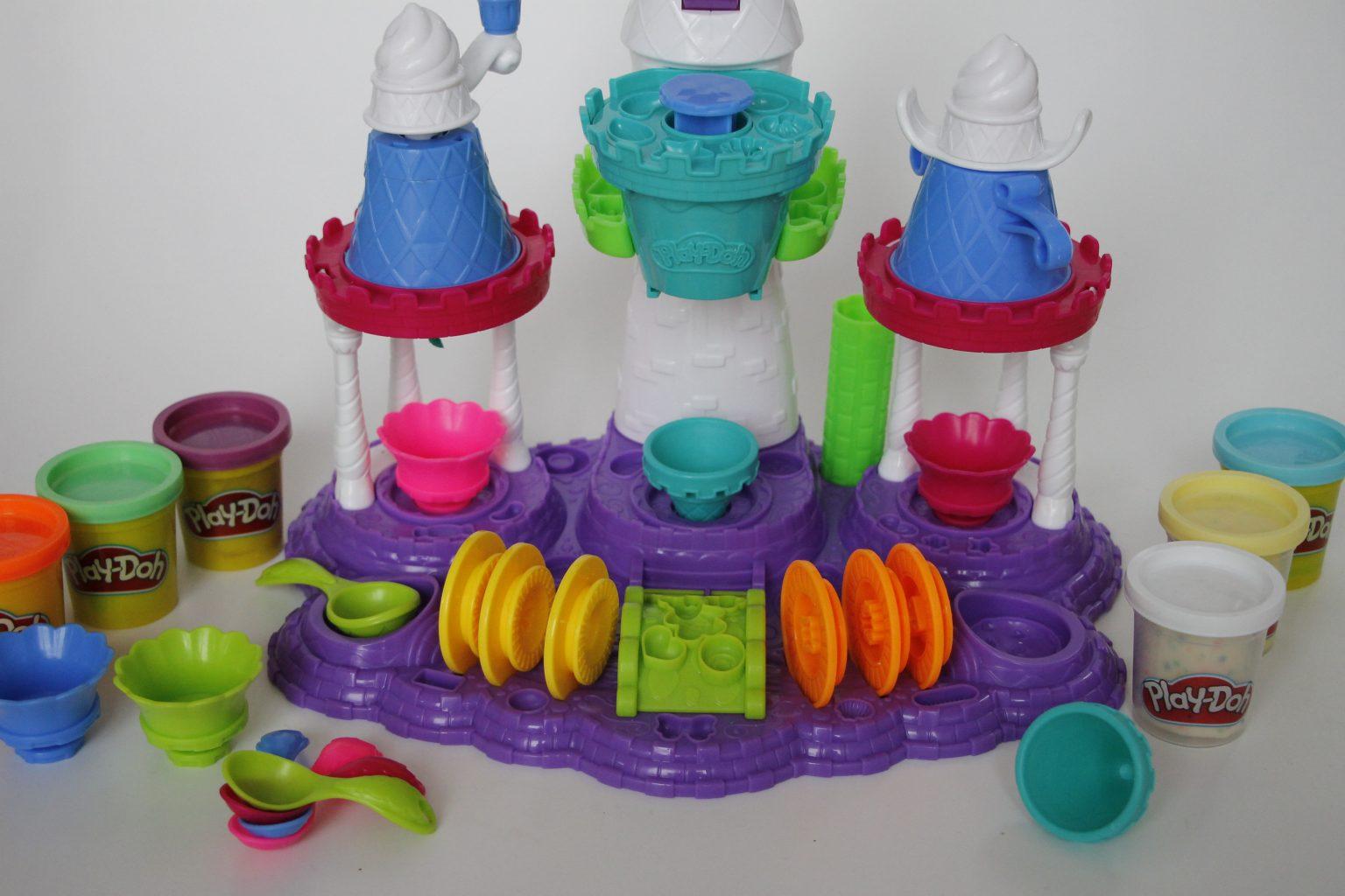 Play-Doh Eiscremeschloss