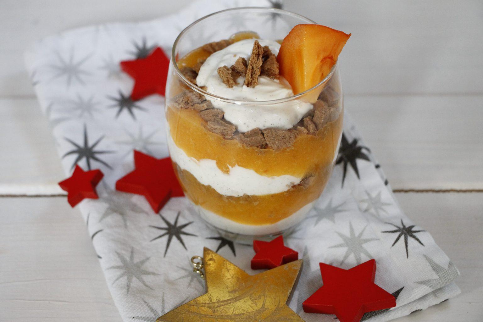 Persimon Dessert