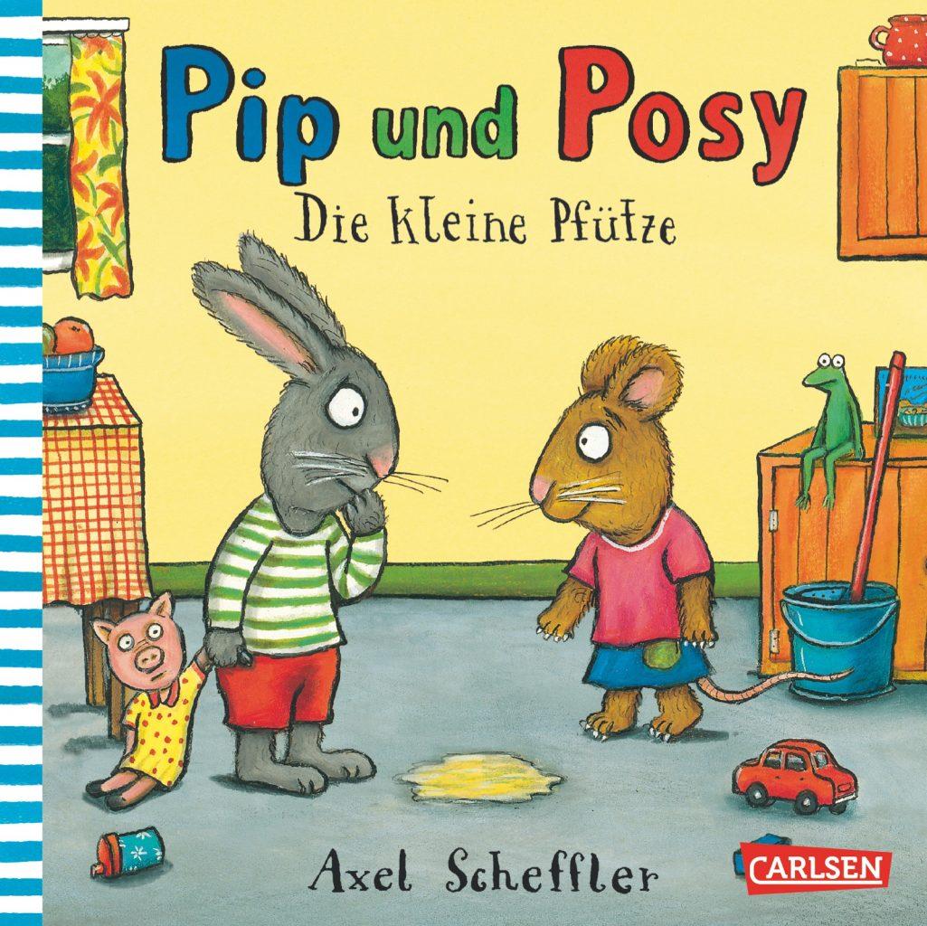 Axel Scheffler Pip und Posy Die kleine Pfütze