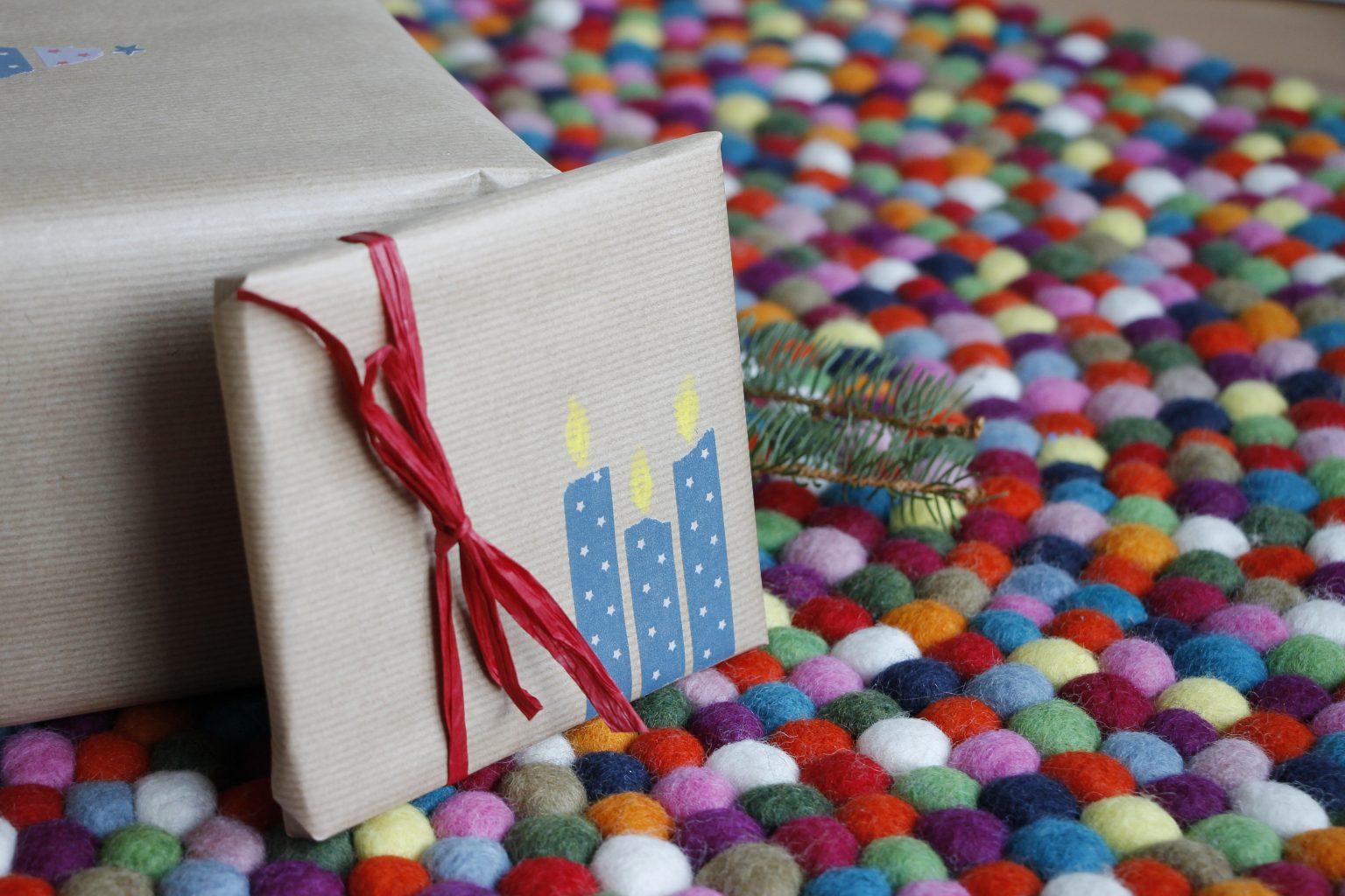Geschenke verpacken mit Washi-Tape