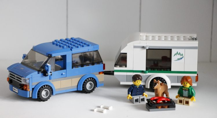 Lego aufgebaut